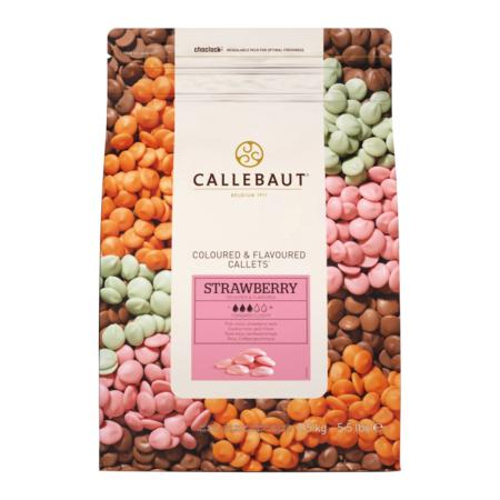 Czekolada Truskawkowa STRAWBERRY - Barry Callebaut - 2,5 kg