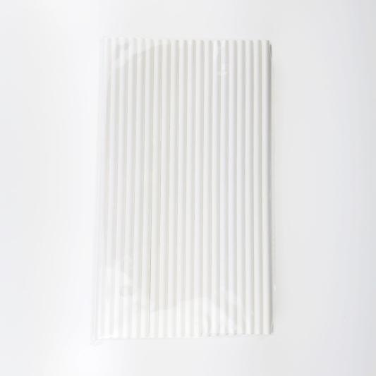 Słomki Papierowe Eco Białe - Decora - 80 szt.