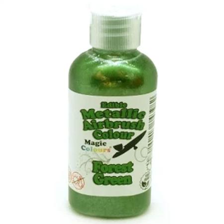 Barwnik do Aerografu Magic Colours - Metallic Forest Green, Metaliczna Ciemna Zieleń (55 ml)