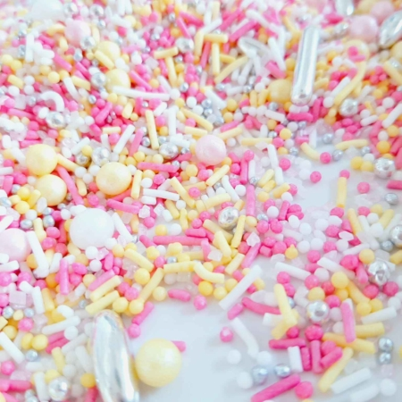 Cukrowa Posypka Różowa Lemoniada - 55 g - Ja Posypię