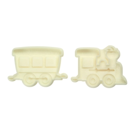 Forma Pociąg, Lokomotywa i Wagony - 2 szt. - JEM