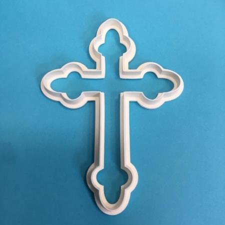 Foremka Krzyż Gotycki 5 cm - Miniowe Formy
