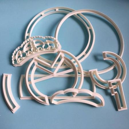 Foremka Real Madryt - zestaw 9 szt. - Miniowe Formy