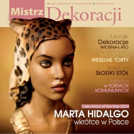 Mistrz Dekoracji – czasopismo dla sugarcrafterów – wydanie specjalne 2020