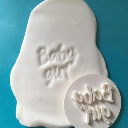 Stempel Napis - Baby Girl - Miniowe Formy
