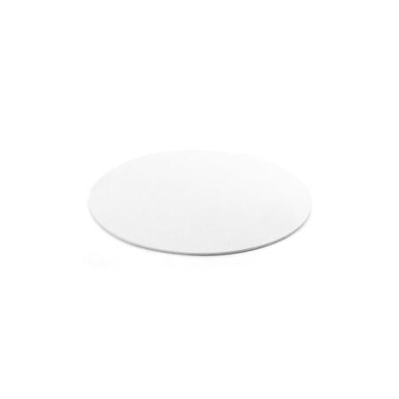 Cienki podkład pod tort Okrągły Biały Ø 18 cm, h 0,3 cm Decora