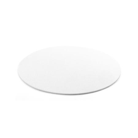 Cienki podkład pod tort Okrągły Biały Ø 28 cm, h 0,3 cm Decora