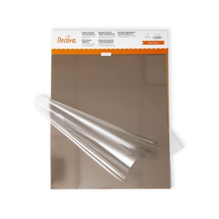 Folia w arkuszach do tworzenia dekoracji 40 x 60 cm - 10 szt. - Decora