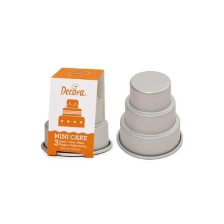 Forma do pieczenia Mini Tort 3 piętra - Decora