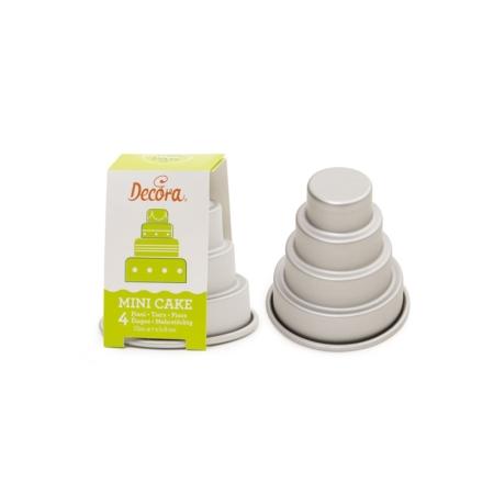 Forma do pieczenia Mini Tort 4 piętra - Decora