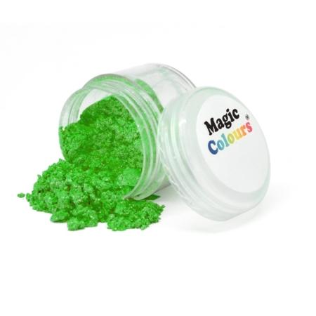 Jadalny barwnik w proszku Magic Colours Lustre Dust - Garden Sparkle, Zieleń Ogrodowa (10 ml)