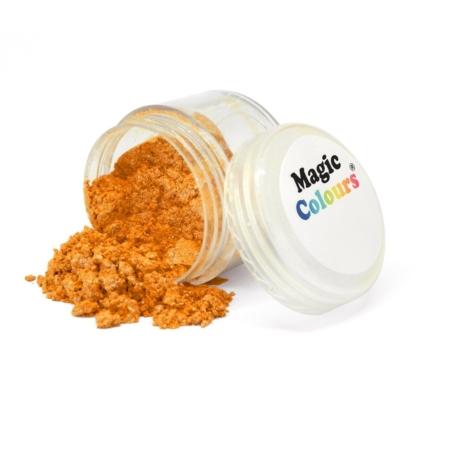 Jadalny barwnik w proszku Magic Colours Lustre Dust - Orange Blast, Pomarańczowy (10 ml)