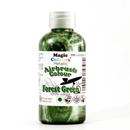 Barwnik do Aerografu Magic Colours - Green Forest, Zielony (55 ml)