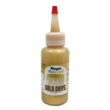 Barwnik do Cake Drip Magic Colours Złoty (100g)