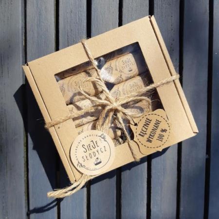 Cukierki Krówki Naturalne - Kakaowe - pudełko 10 szt.