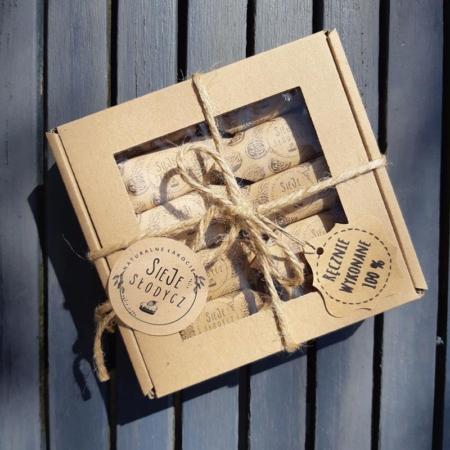 Cukierki Krówki Naturalne - Orzech Włoski - pudełko 10 szt.