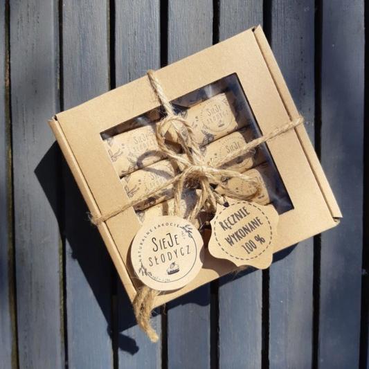 Cukierki Krówki Naturalne - Waniliowe - pudełko 10 szt.