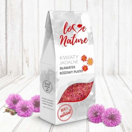 Kwiaty jadalne - Płatki - Bławatek Różowy, Chaber - 10g