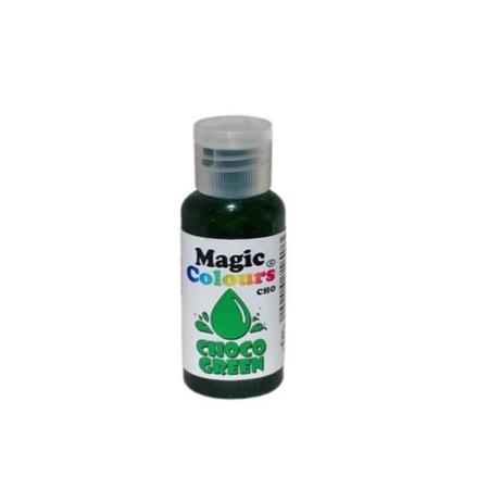 Barwnik w żelu do Czekolady Magic Colours - Zielony (32g)