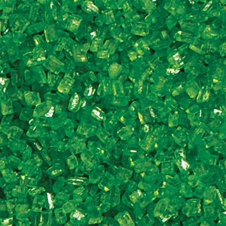 Cukrowa Posypka Zielone Kryształki 100 g - Decora