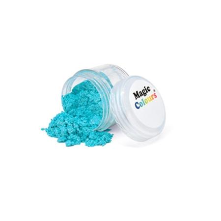 Jadalny barwnik w proszku Magic Colours Lustre Dust - Blue, Niebieski (10 ml)