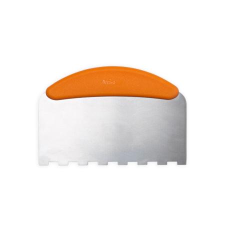 Metalowa Packa do tynkowania, wygładzania tortu w Paski 22,5 cm - Decora