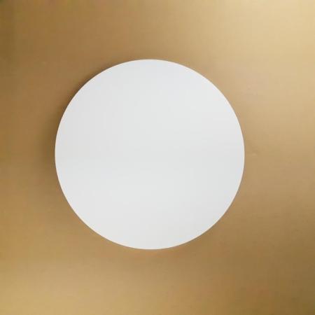 Podkład pod tort okrągły lekki, sztywny, gruby, wytrzymały - Biały - ø 18 cm, grubość: 1,0 cm - Aleksander Print