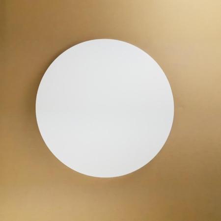 Podkład pod tort okrągły lekki, sztywny, gruby, wytrzymały - Biały - ø 22 cm, grubość: 1,0 cm - Aleksander Print