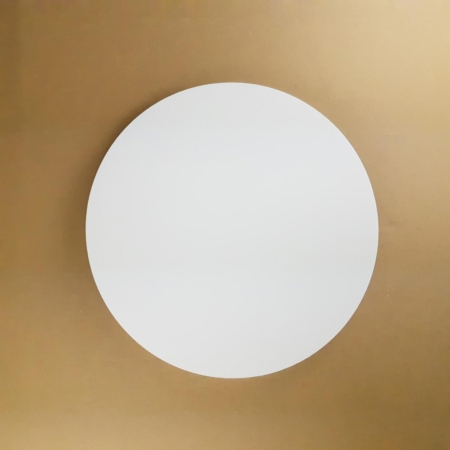 Podkład pod tort okrągły lekki, sztywny, gruby, wytrzymały - Biały - ø 24 cm, grubość: 1,0 cm - Aleksander Print