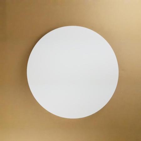 Podkład pod tort okrągły lekki, sztywny, gruby, wytrzymały - Biały - ø 25 cm, grubość: 1,0 cm - Aleksander Print
