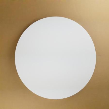 Podkład pod tort okrągły lekki, sztywny, gruby, wytrzymały - Biały - ø 26 cm, grubość: 1,0 cm - Aleksander Print