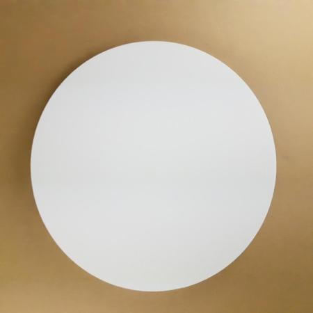 Podkład pod tort okrągły lekki, sztywny, gruby, wytrzymały - Biały - ø 30 cm, grubość: 1,0 cm - Aleksander Print