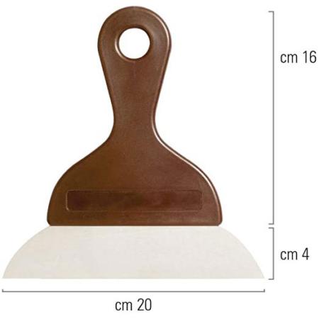 Szpachelka, Szpachla, Skrobkado ciasta i czekolady 20 cm - Decora