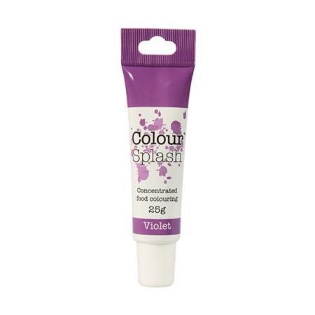 Barwnik w żelu Colour Splash w tubce - Fioletowy (25g)