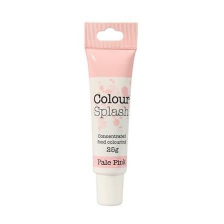 Barwnik w żelu Colour Splash w tubce - Jasno Różowy (25g)
