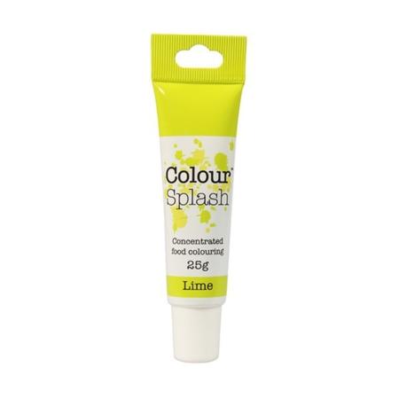 Barwnik w żelu Colour Splash w tubce - Limonkowy (25g)