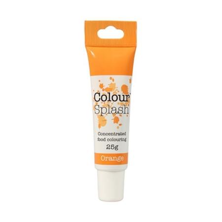 Barwnik w żelu Colour Splash w tubce - Pomarańczowy (25g)