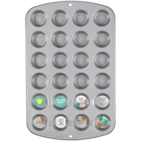 Forma do pieczenia Mini Muffinek 40,6x25,4x3,5h cm - Wilton