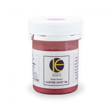 Jadalny barwnik perłowy w proszku IE - Różowy 5g