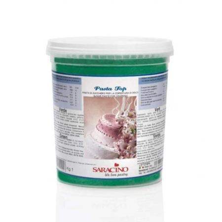 Masa cukrowa Zielona 1 kg - Saracino