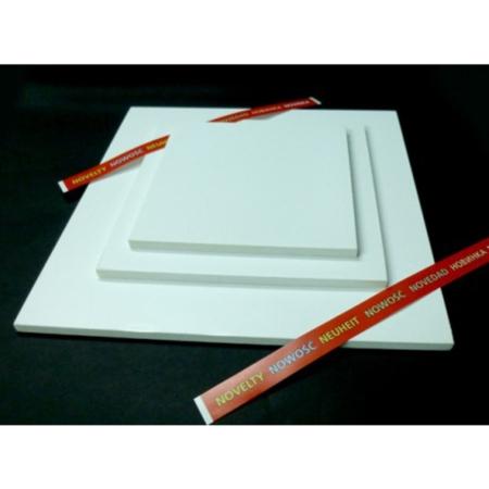 Podkład pod tort kwadratowy Biały 25x25 cm, h 1,0 cm