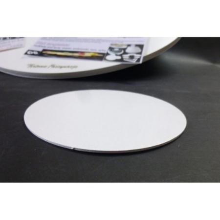 Podkład pod tort okrągły Biały 13 cm, h 0,3 cm - Aleksander Print