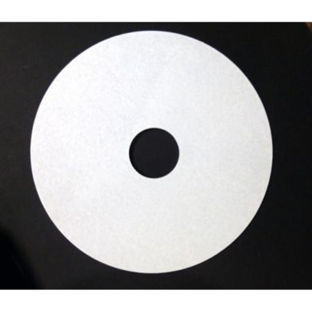 Podkład pod tort okrągły z otworem na stojak Biały 15 cm, h 0,3 cm