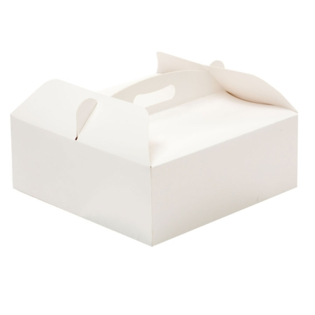 Pudełko na ciasto z uchwytem 31x16x12 h cm - 1 szt. - Decora