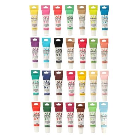Barwniki w żelu Colour Splash