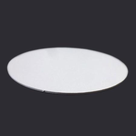 Podkład pod tort okrągły lekki, sztywny, cienki, wytrzymały - Biały - ø 13 cm, grubość: 0,3 cm - Aleksander Print