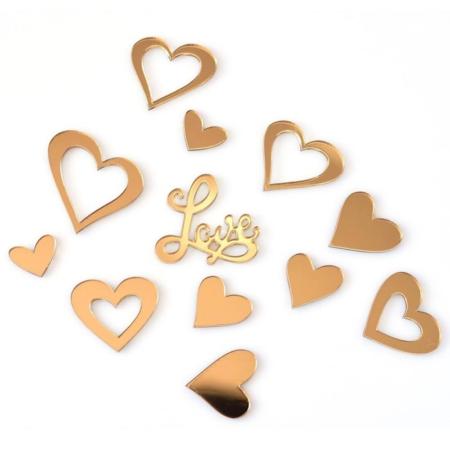 Ozdoba na Tort Serduszka i LOVE