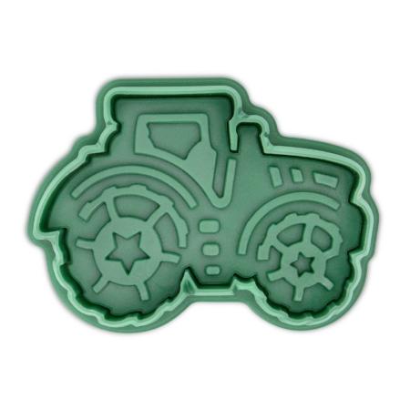 Wykrawaczka z Tłoczkiem Traktor - 6,5 cm - Städter
