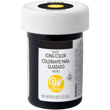 Barwnik w żelu Wilton Black, Czarny 28 g