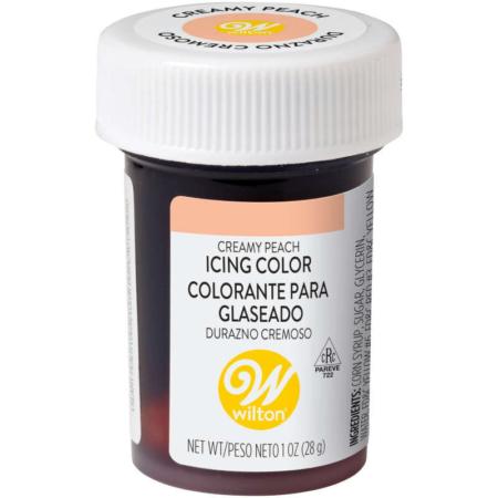 Barwnik w żelu Wilton Creamy Peach, Kremowa Brzoskwinia 28 g